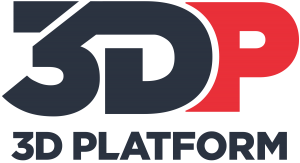 3DP - logo