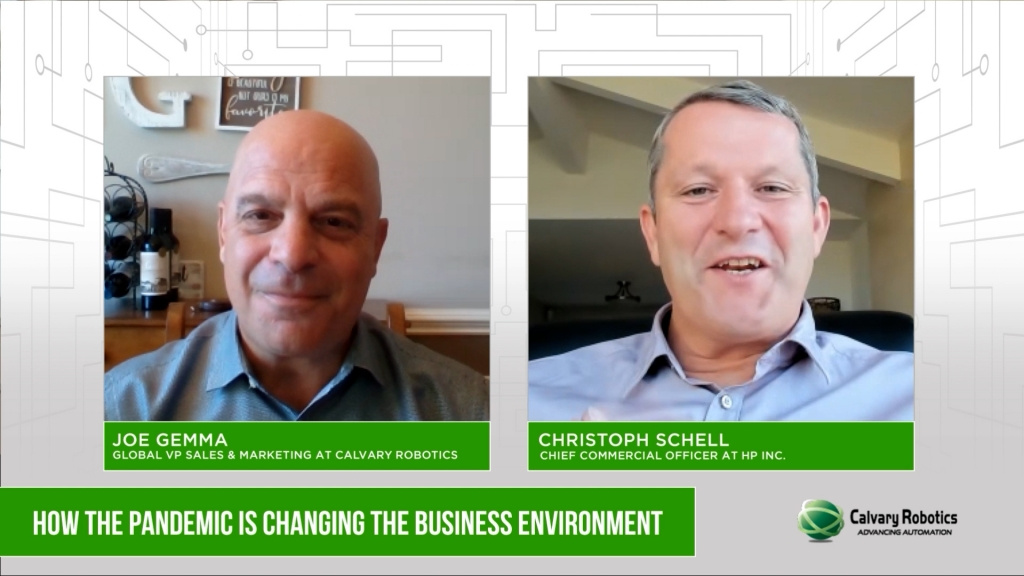"""Calvary TV – Christoph Schell """"How the Pandemic is Changing the Business Environment (Part One)"""""""