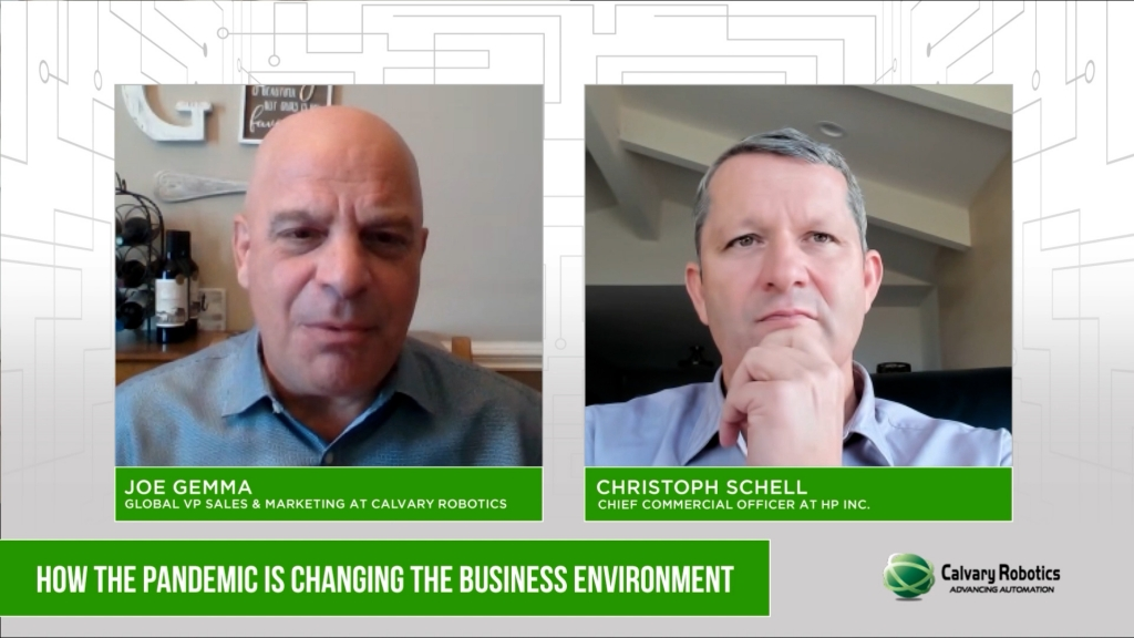 """Calvary TV – Christoph Schell """"How the Pandemic is Changing the Business Environment (Part Two)"""""""