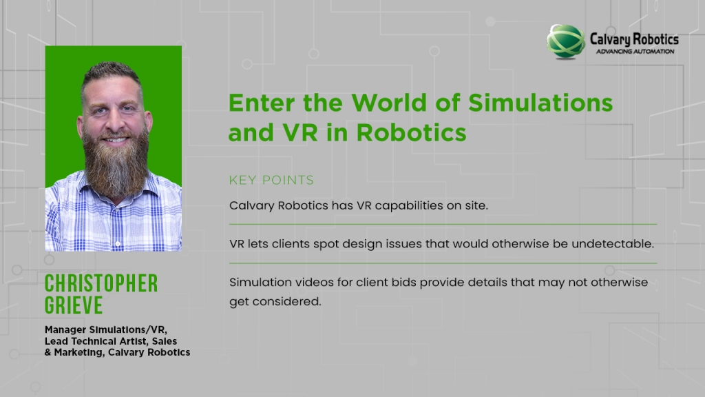 Calvary Robotics Christopher Grieve