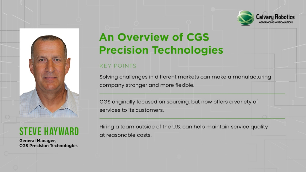 An overview of CGS